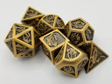 Load image into Gallery viewer, Gauge Metal Dice Set Pre-Order (Talys Dragon)
