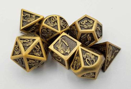 Gauge Metal Dice Set (Talys Dragon)