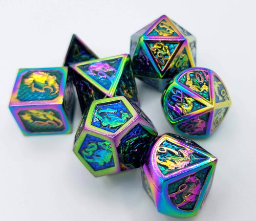 Kismet Metal Dice Set (Talys Dragon)