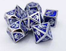 Load image into Gallery viewer, Omega Metal Dice Set (Talys Dragon)