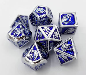 Omega Metal Dice Set (Talys Dragon)