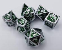 Load image into Gallery viewer, Ridley Metal Dice Set (Talys Dragon)