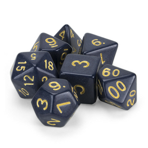 Dreamless Night Dice Set