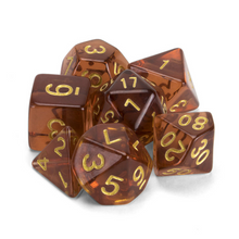 Load image into Gallery viewer, Desert Topaz Dice Set