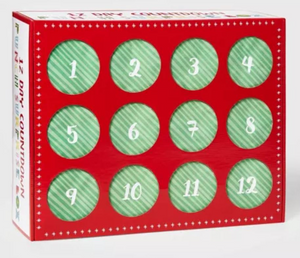 12 Day Dice Advent Calendar 2020 (Style 1: 3 Sets)