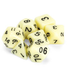 Load image into Gallery viewer, Goblin Teeth Dice Set