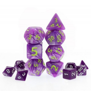 Hyperion 29mm Giant Purple Dice Set