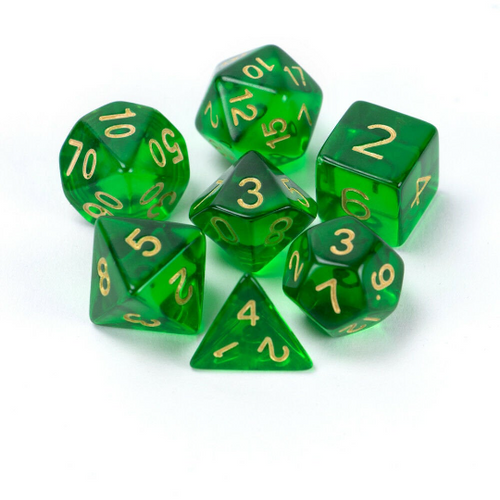 Sylvan Spirits Dice Set