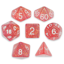 Load image into Gallery viewer, Royal Bubblegum Dice Set