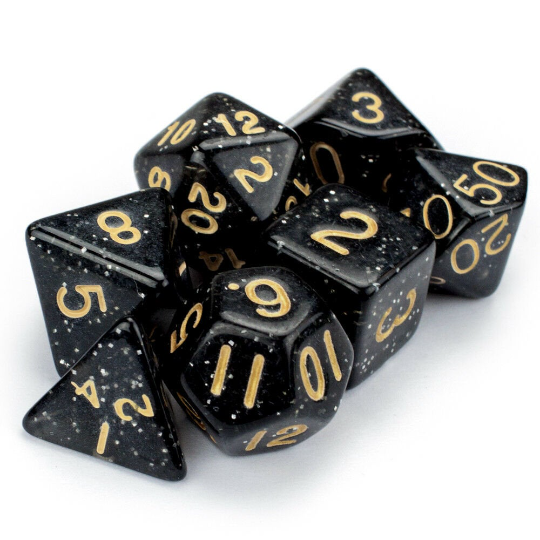 Stardust Dice Set