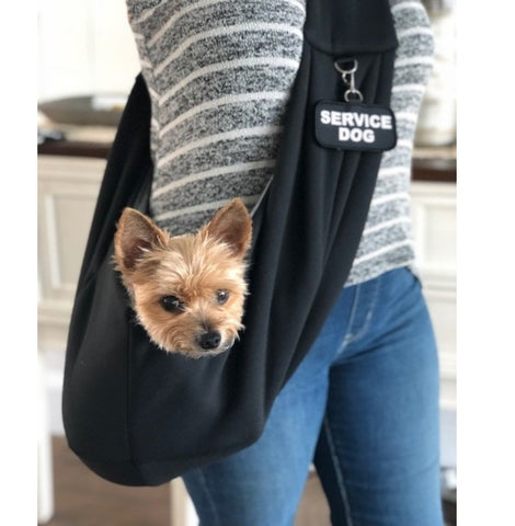 EZ-SLING™ Small Service Dog Sling Carrier