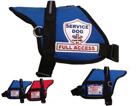 Service Dog Full Access Dog Vest