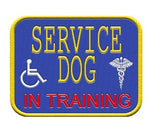 """Service Dog in Training"" Patch ."