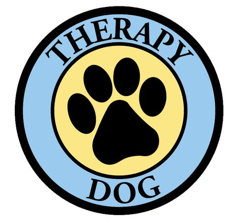 Therapy Dog- Window Decal