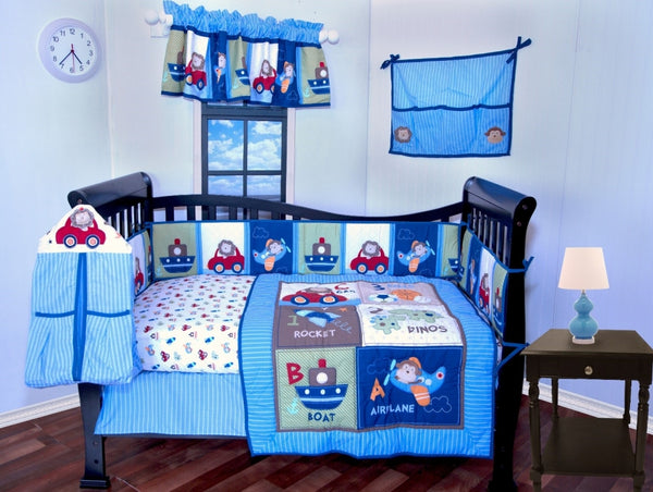 ADVENTURE TOYS BABY CRIB BEDDING SET