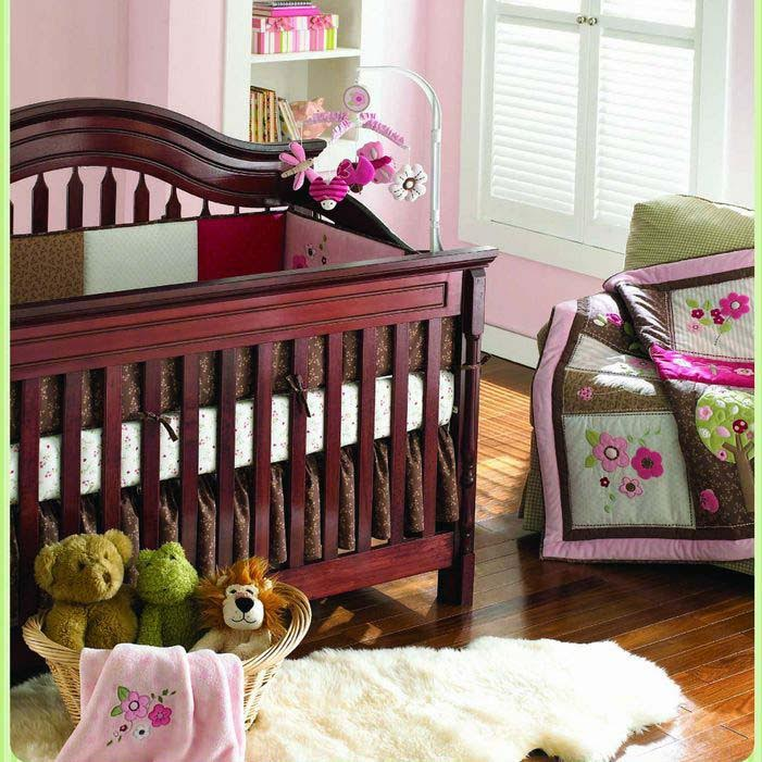 DREAM GARDEN BABY CRIB  BEDDING SET