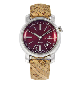 Sablier Watches Grand Cru II (44 mm) Burgundy for Men