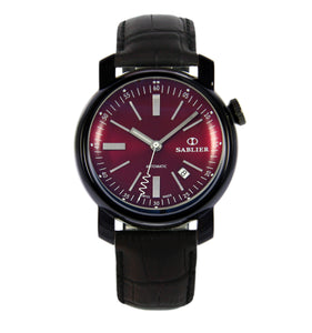 Sablier Watches Grand Cru II (44 mm) Burgundy DLC for Men