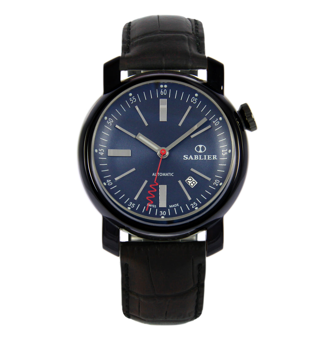 Sablier Watches Grand Cru II (44 mm) Midnight DLC for Men