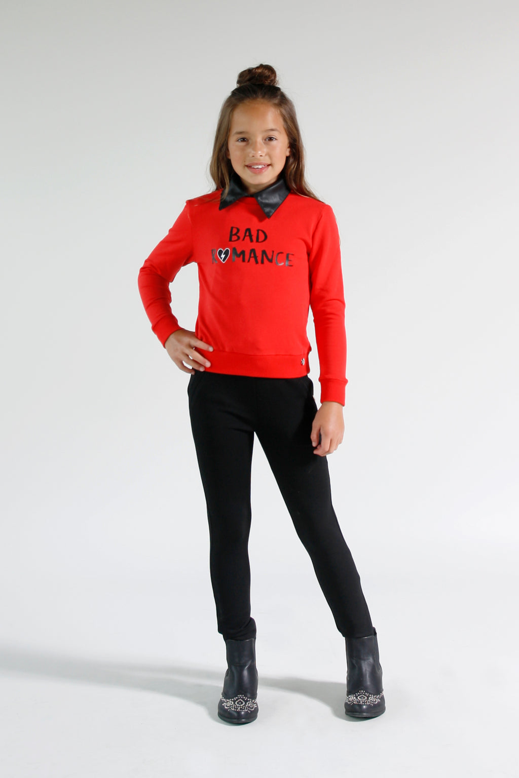 Jacky Girls meisjeskleding sweater Bad Romance rood 116 128 140 152 164 176