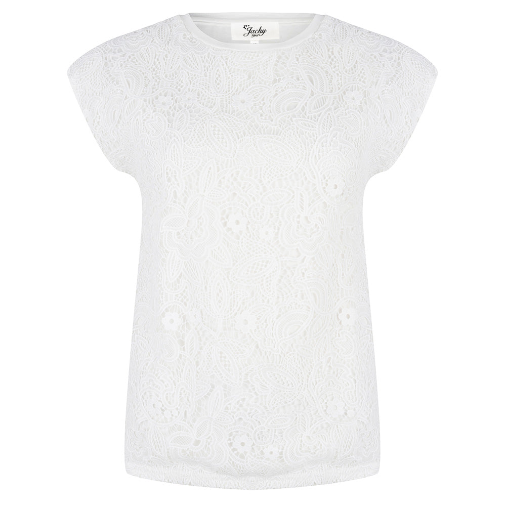 Jacky Girls meisjeskleding Top Lace wit