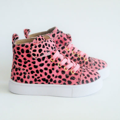 PINK OCELOT HIGHTOP