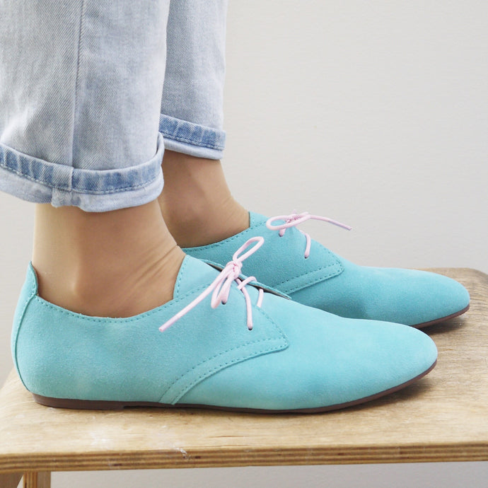 MUMMA OCEAN OXFORD (SALE RRP $140) LAST SIZES 36, 40, 41, 42