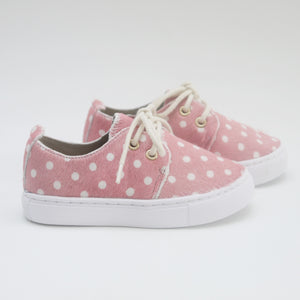 PINK SPOT SNEAKERS