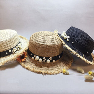 45e4d24cd73 new arrival lovely Flat top straw hat spring summer 2019 by Hats4Seasons