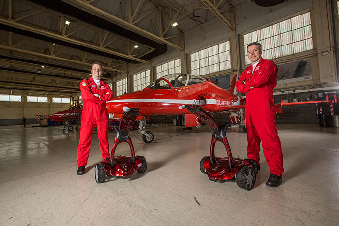 Stewart Golf team up with the Red Arrows