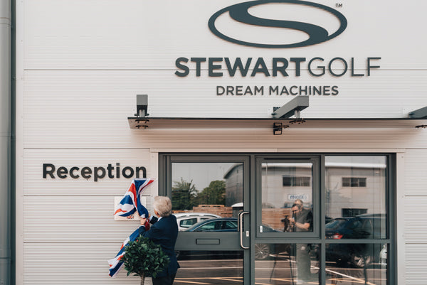 Stewart Golf's new headquarters are officially opened by Richard Graham MP