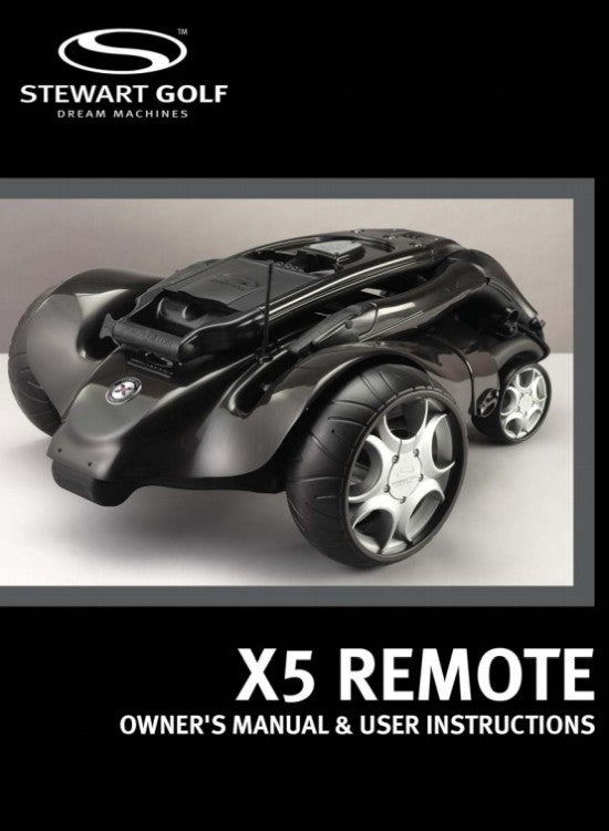 X5 Remote User Guide