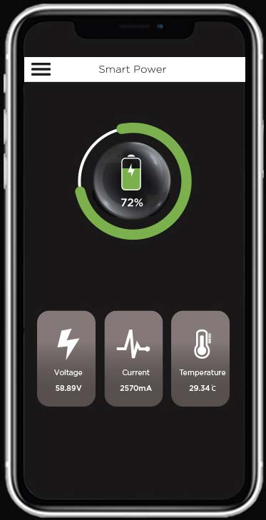 Smart Power Battery App