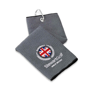 Embroidered Microfibre Towel