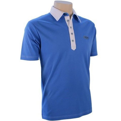 SG Contrast Polo - Palace Blue