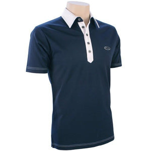 SG Contrast Polo - Midnight Blue