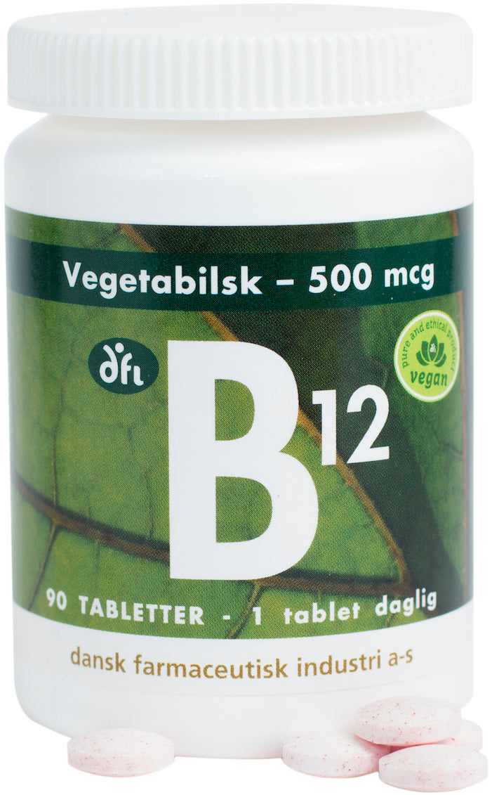 B12-vitamin 500 mcg (Methylcobalamin)