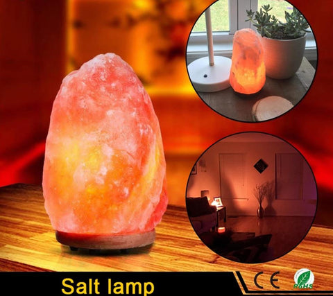 emannashop.com - Natural Himalayan Crystal Rocks Salt Table Lamp