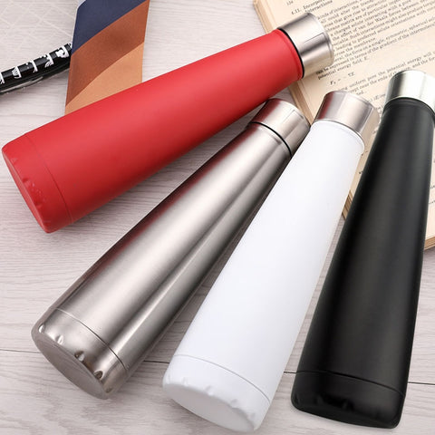 Customization Thermos Bottle Stainless Steel Shaker Bottle Vacuum Insulated Cup Coffee Themal Outdoor Sport Flask