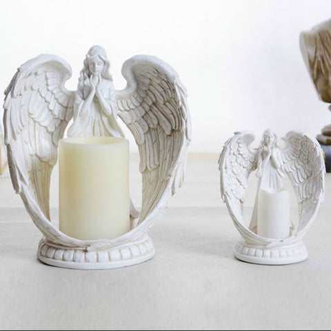 emannashop.com - Classic Angel Candle Holders