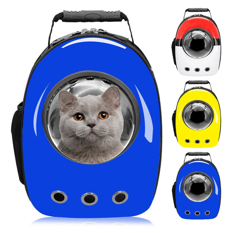 emannashop.com - Dog Cat Breathable Space Capsule Backpack