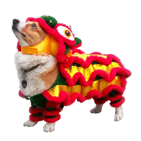 emannashop.com - Funny Dog Cat Lion Dance Costume