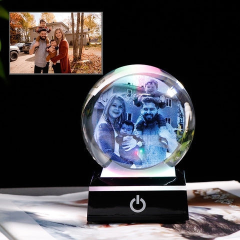 emannashop.com - Personalized 2D Laser Engraved Globe.