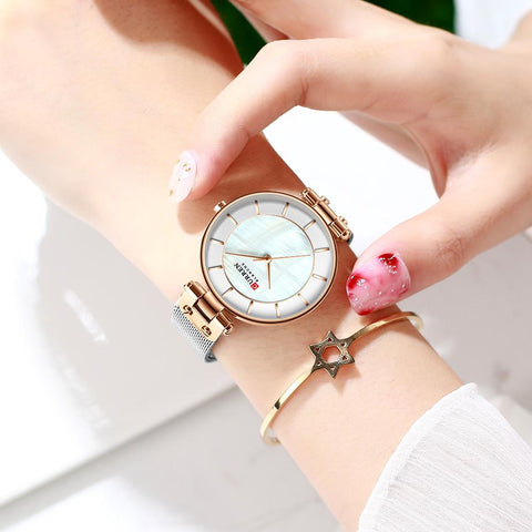 emannashop.com - Classic Quartz Bracelet Watch