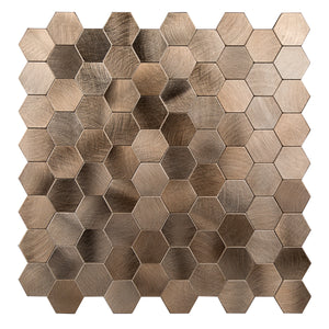 Metal Tile Backsplash