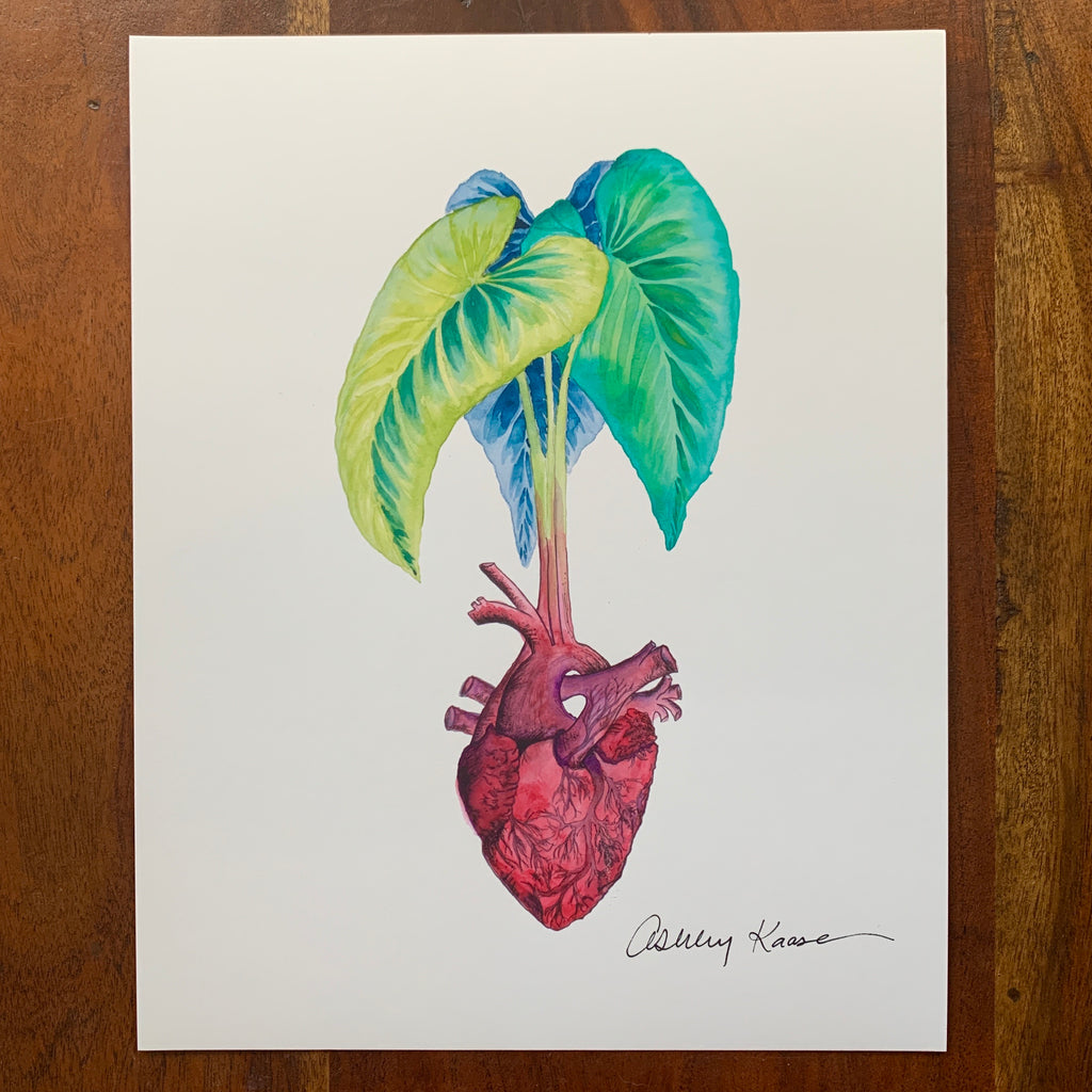 Taro Heart by Ashley Kaase