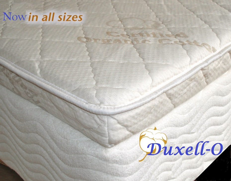 Duxell-O Upholstered Dunlop Latex Mattress Topper