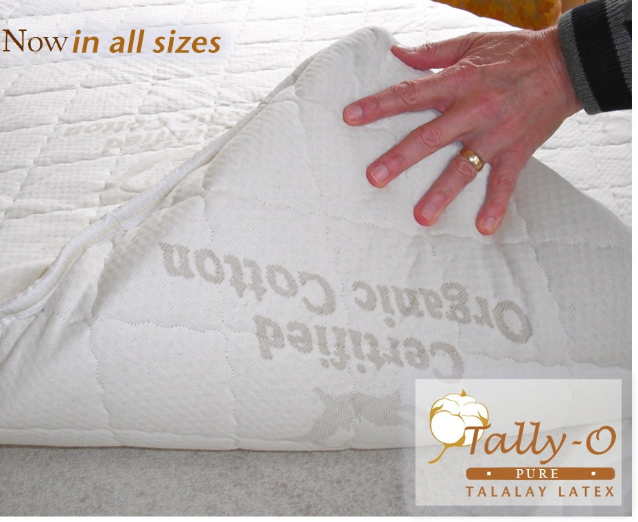 Tally-O Custom Talalay Latex Mattress Pad