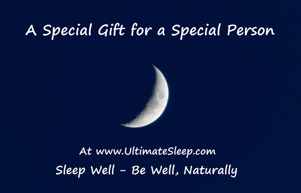 Ultimate Sleep Gift Card Moon