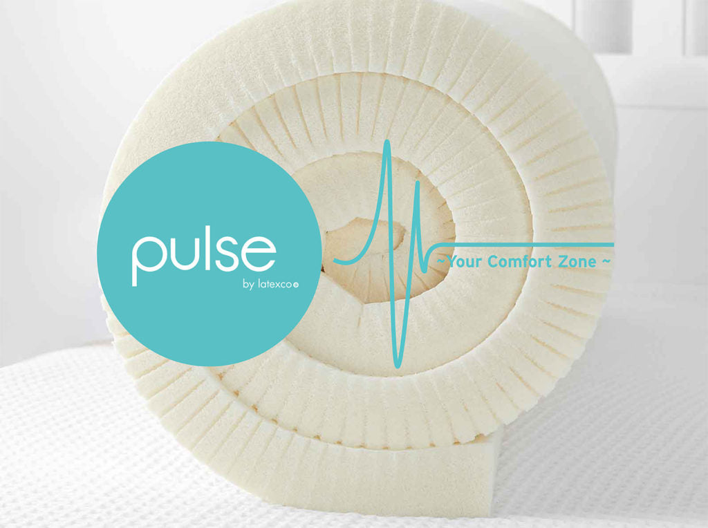 Pulse Superior Latex Foam Toppers - Beyond Dunlop and Talalay